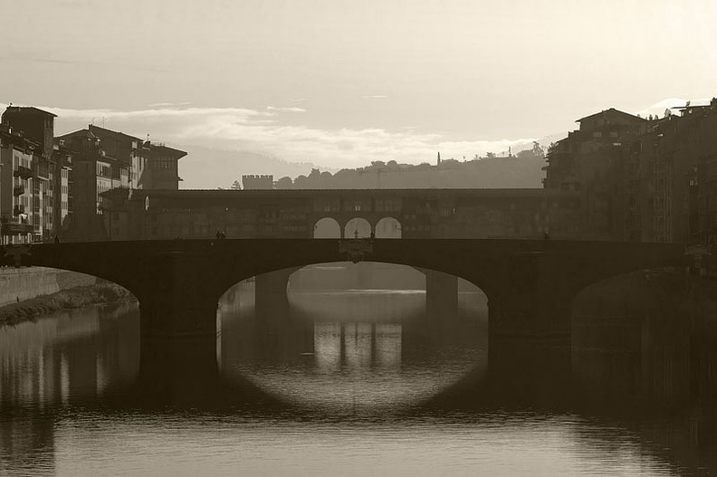 Two bridges in Florence